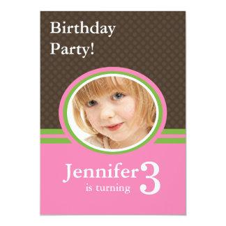 Convites de festas do aniversário de 3 anos