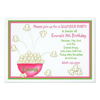 Convites de festas do descanso da pipoca