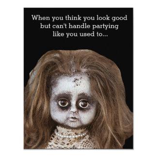 Convites de festas do Dia das Bruxas engraçado