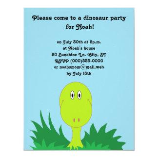 """Convites de festas do """"dinossauro"""""""