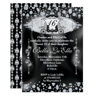 Convites de festas do doce 16 de Bling, marmelo