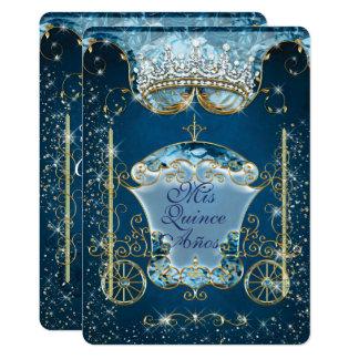 Convites de festas do estilo Sparkling Cinderella
