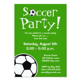 Convites de festas do futebol para aniversários ou