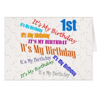 Convites de festas do primeiro aniversario