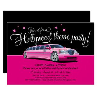 Convites de festas do tema de Hollywood