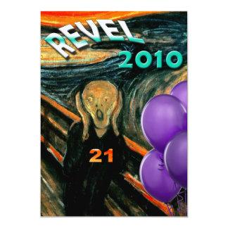 Convites de festas engraçados do aniversário de 21