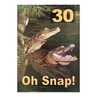 Convites de festas engraçados do aniversário de 30