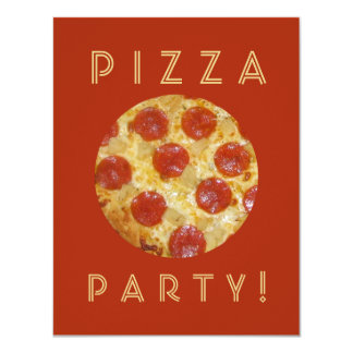 Convites de festas feitos sob encomenda da PIZZA