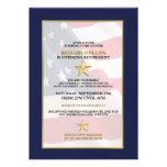 Convites de festas militares da aposentadoria