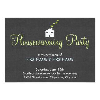 Convites de festas modernos simples do