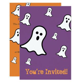 Convites de festas pequenos do Dia das Bruxas dos
