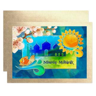 Convites de festas persas do ano novo de Nowruz