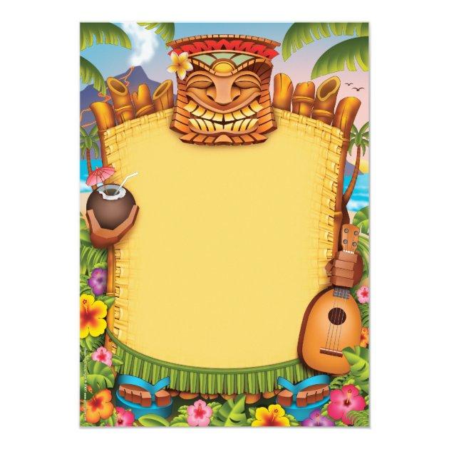 Convites de Luau, convites de festas havaianos | Zazzle