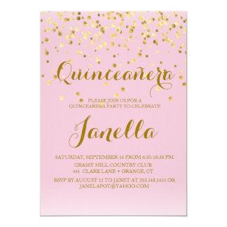Convites de Quinceañera