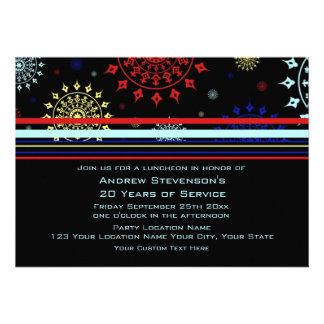 Convites do almoço do aniversário do empregado