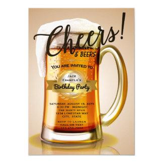 Convites do aniversário da cerveja