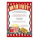 Convites do aniversário do bilhete do PARTIDO do