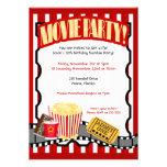 Convites do aniversário do bilhete do PARTIDO do F