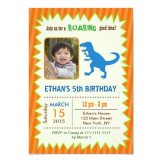 Convites do aniversário do dinossauro