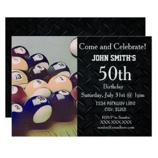 Convites do aniversário dos homens adultos ásperos