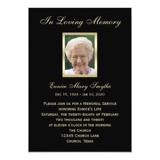 Convites do anúncio da cerimonia comemorativa -