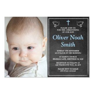 Convites do batismo/baptismo - bebé