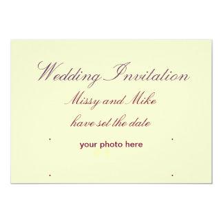 Convites do casamento