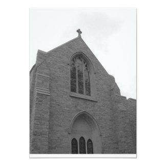 Convites do casamento da igreja