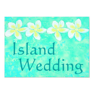Convites do casamento da ilha da praia do