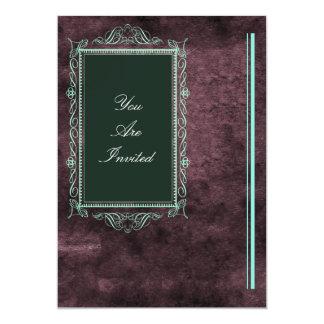 Convites do casamento da moldura para retrato