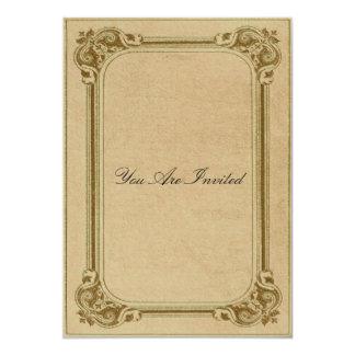 Convites do casamento da moldura para retrato do