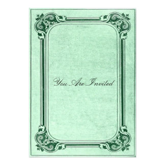 Convites do casamento da moldura para retrato do v