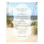 Convites do casamento de praia