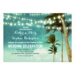 convites do casamento de praia do ombre da cerceta