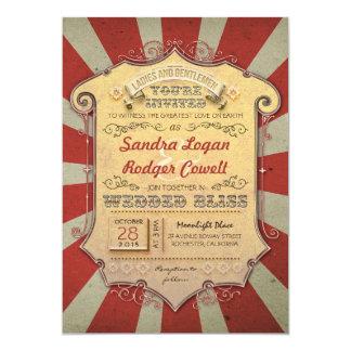 convites do casamento do carnaval convite 12.7 x 17.78cm
