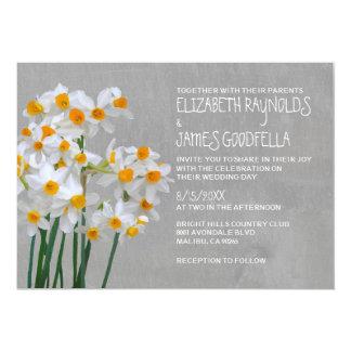 Convites do casamento do narciso