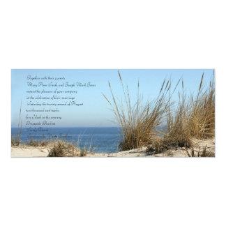 Convites do casamento do tema da praia