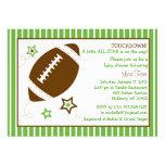 Convites do chá de fraldas de All Star do futebol