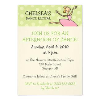 Convites do considerando da dança