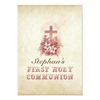convites do costume do comunhão santamente do