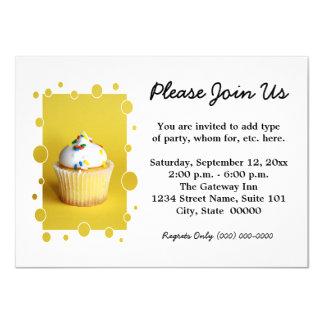 Convites do cupcake