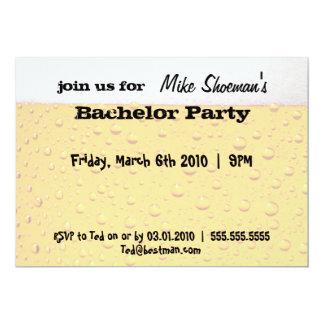 Convites do despedida de solteiro da cerveja