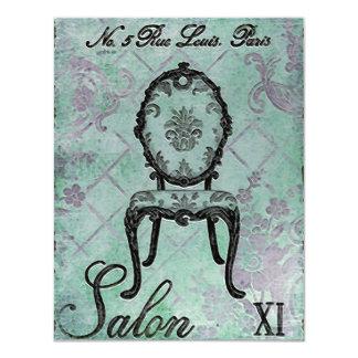Convites do ~ do salão de beleza XI