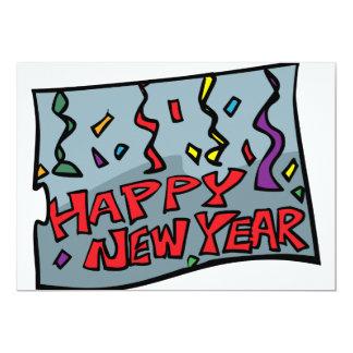 Convites do feliz ano novo