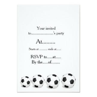 Convites do futebol