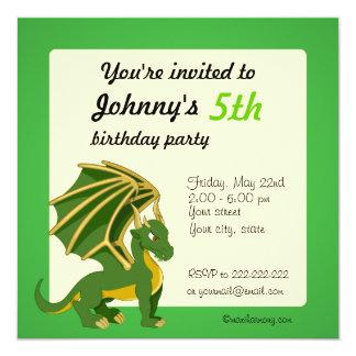 Convites do impressão do aniversário dos desenhos