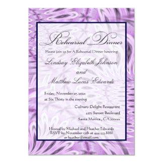 Convites do jantar de ensaio convite 11.30 x 15.87cm