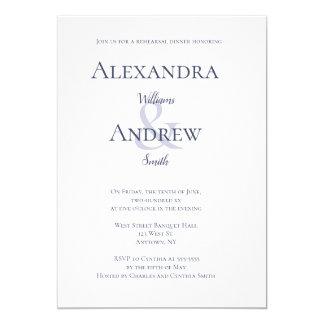 Convites do jantar de ensaio da tipografia dos