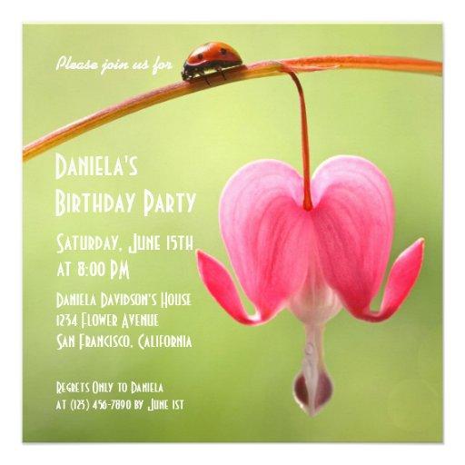 Convites do joaninha