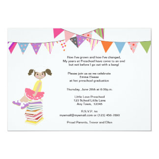 Convites do pré-escolar ou do jardim de infância